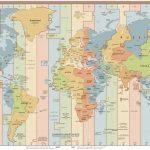 Zeitzonen. Quelle: Wikipedia.
